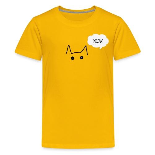 Meow Kids Tee - Kids' Premium T-Shirt