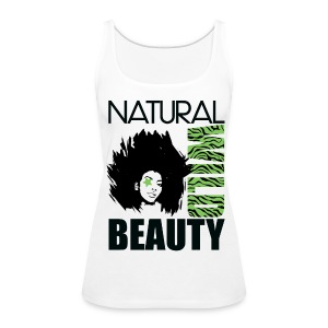 Women's Premium Tank Top - womens t-shirts,t-shirts,pick,natural hair t-shirts,natural hair,nappy,love,kinky,curly,crop top,coily,afro