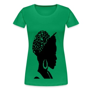 Women's Premium T-Shirt - womens t-shirts,t-shirts,pick,natural hair t-shirts,natural hair,nappy,love,kinky,curly,crop top,coily,afro