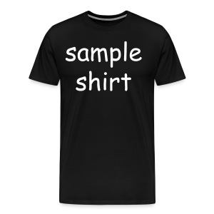 Men's Sample Shirt - Men's Premium T-Shirt