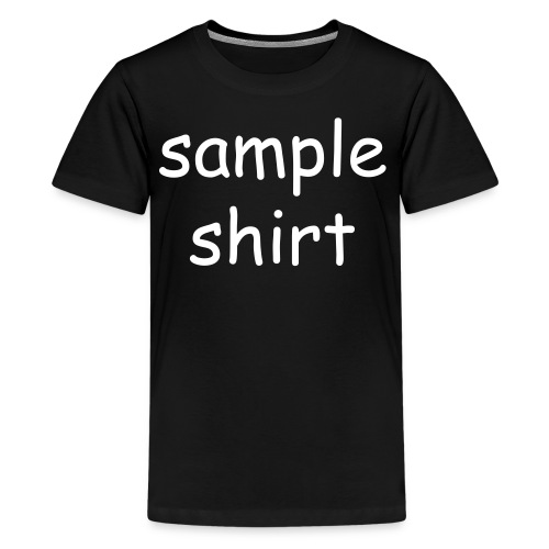 Kid's Sample Shirt - Kids' Premium T-Shirt