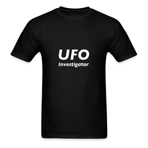 UFO Investigator - Men's T-Shirt