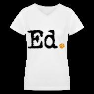 T-Shirts ~ Women's V-Neck T-Shirt ~ Ed.