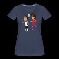 Women's T-Shirts ~ Women's Premium T-Shirt ~ Women T-Shirt - El Tiburon 2010