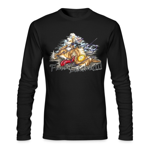 Fuck Leashes - Men's Long Sleeve T-Shirt by Next Level