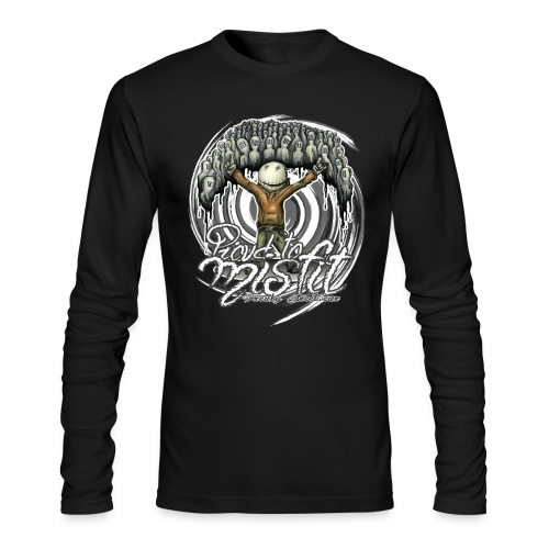 Proud to misfit - Men's Long Sleeve T-Shirt by Next Level