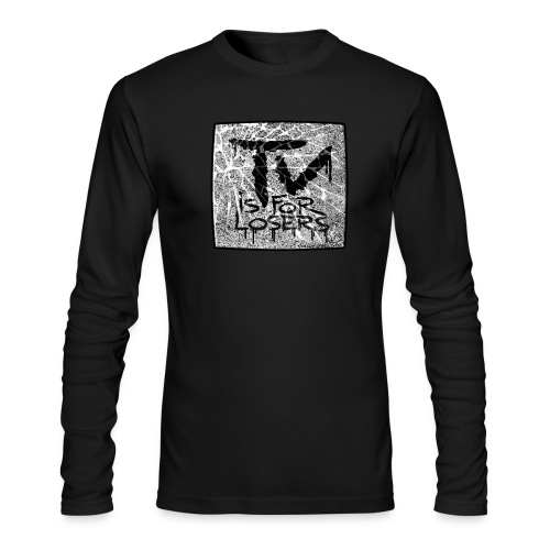 TV is for losers - Men's Long Sleeve T-Shirt by Next Level