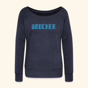 GB_Rocker (free shirtcolor selection) - Women's Wideneck Sweatshirt