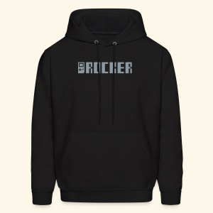 GB_Rocker Silver (free shirtcolor selection) - Men's Hoodie