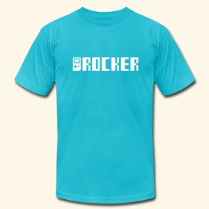 GB_Rocker (free shirtcolor selection) - Men's T-Shirt by American Apparel