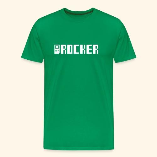 GB_Rocker Silver (free shirtcolor selection) - Men's Premium T-Shirt