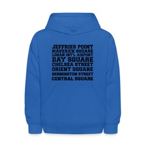 East Boston Suburbs - Kids' Hoodie