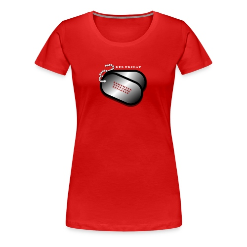 Red Friday Shirt - Women's Premium T-Shirt