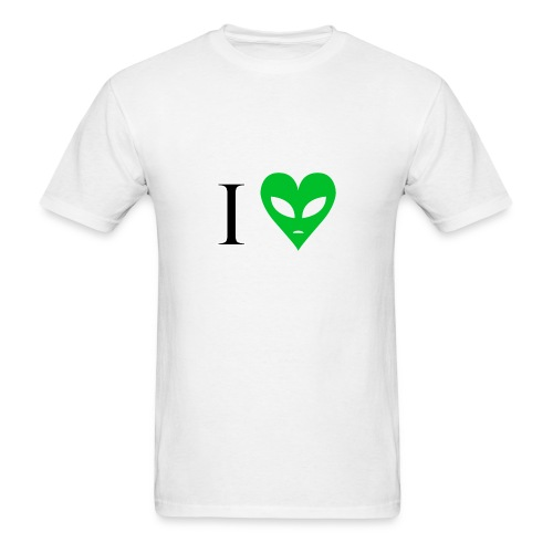Love alien - Men's T-Shirt