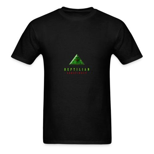 Reptilian Conspiracy - Men's T-Shirt