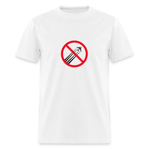 Anti Chemtrails - Men's T-Shirt