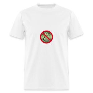 No Illuminati - Men's T-Shirt