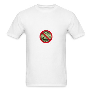 No Illuminati - Men's T-Shirt