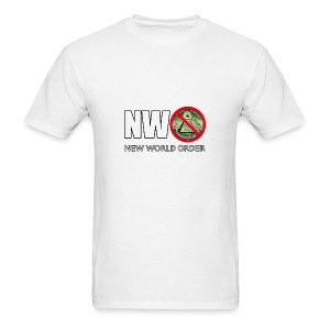 NWO New World Order - Men's T-Shirt