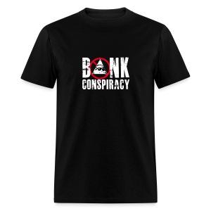 NWO Bank Conspiracy - Men's T-Shirt