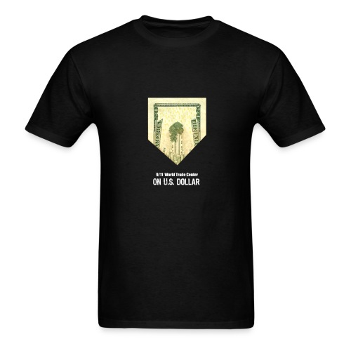 911 WTC on US Bill - Men's T-Shirt