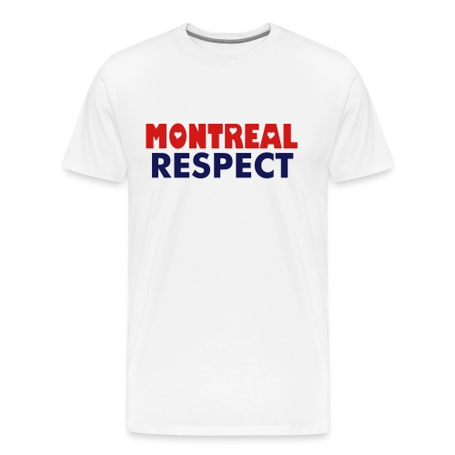 Montreal Respect Red - Men's Premium T-Shirt