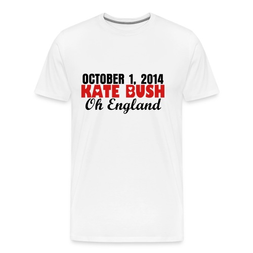 Kate Bush Oct1oh england - Men's Premium T-Shirt