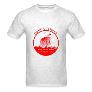UFO Devils Tower - Men's T-Shirt