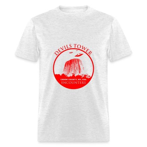 UFO Devils Tower - Men's T-Shirt