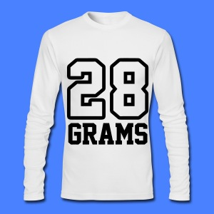 28 Grams Long Sleeve Shirts - Men's Long Sleeve T-Shirt by Next Level
