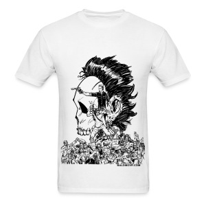 Crouching Redneck, Hidden Badass - Men's T-Shirt