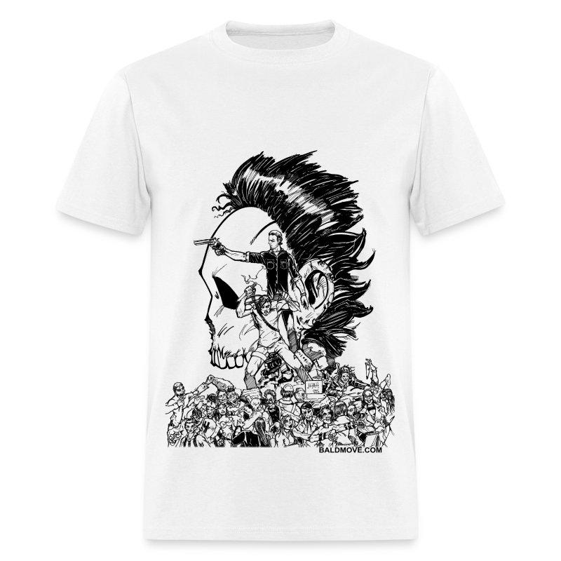 Crouching Redneck, Hidden Badass - Men's T-Shirt