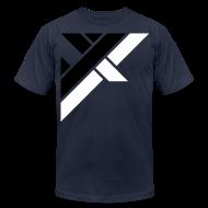 T-Shirts ~ Men's T-Shirt by American Apparel ~ Mens Shirt // Slash GT Abstract