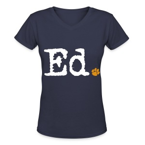 Ed. - Women's V-Neck T-Shirt