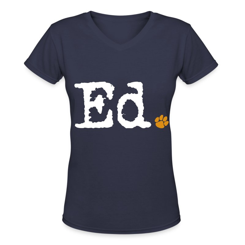 Ed. - Women's V-Neck T-Shirt