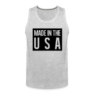 Tank Tops ~ Men's Premium Tank Top ~ Made in the USA Tank Top