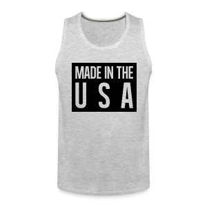 Made in the USA Tank Top - Men's Premium Tank