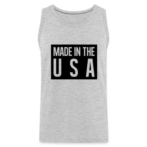 Made in the USA Tank Top - Men's Premium Tank