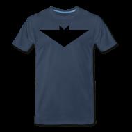 T-Shirts ~ Men's Premium T-Shirt ~ Mens T-Shirt // Minimalist Superhero THE BAT