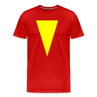 T-Shirts ~ Men's Premium T-Shirt ~ Mens T-Shirt // Minimalist Superhero THE MARVEL