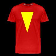 T-Shirts ~ Men's Premium T-Shirt ~ Mens T-Shirt // Minimalist Superhero THE MARVEL