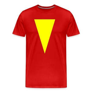 Mens T-Shirt // Minimalist Superhero THE MARVEL - Men's Premium T-Shirt