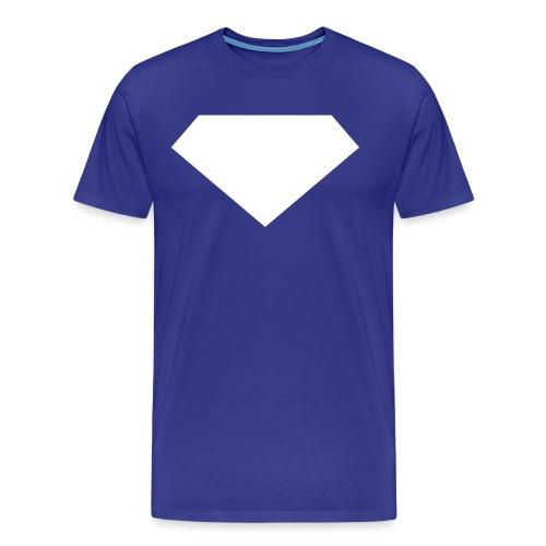 Mens T-Shirt // Minimalist Superhero THE LAST SON - Men's Premium T-Shirt