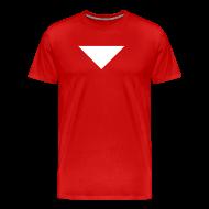 T-Shirts ~ Men's Premium T-Shirt ~ Mens T-Shirt // Minimalist Superhero STARKONIUM