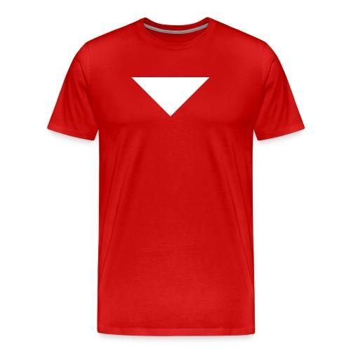 Mens T-Shirt // Minimalist Superhero STARKONIUM - Men's Premium T-Shirt