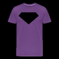T-Shirts ~ Men's Premium T-Shirt ~ Mens T-Shirt // Minimalist Superhero THE LAST SON - Dark