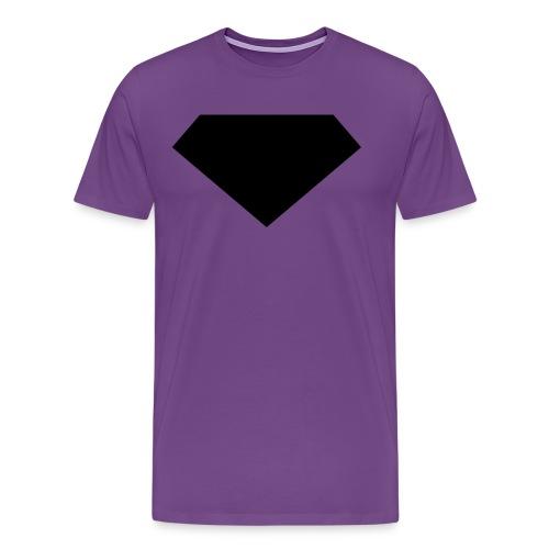 Mens T-Shirt // Minimalist Superhero THE LAST SON - Dark - Men's Premium T-Shirt