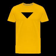T-Shirts ~ Men's Premium T-Shirt ~ Mens T-Shirt // Minimalist Superhero STARKONIUM - Dark
