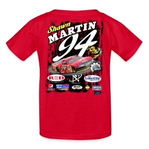 Shawn MartinKids Shirt - Red - Kids' T-Shirt