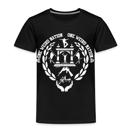 SKATETISTAN CHARITY SHIRT - Toddler Premium T-Shirt